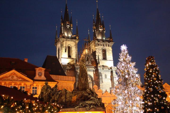 Фото Прага Новогодняя